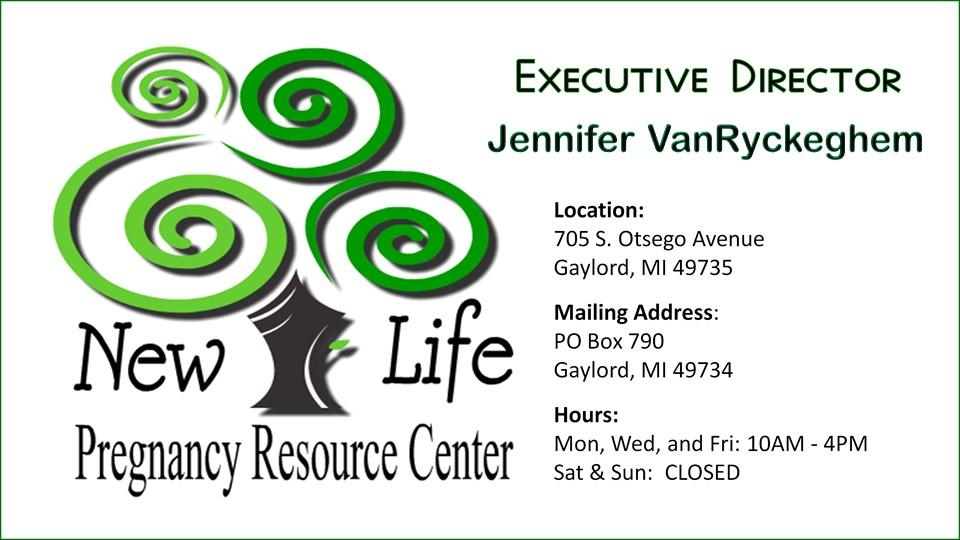 New Life Pregnancy Center News!